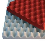 Звукопоглощающий материал из вспененного меламина